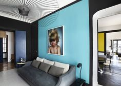 Light Blue wall - MyDesignFetish.com