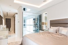 Master bedroom with open plan ensuite from Herrington Gate