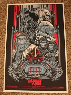 Ken Taylor's Planet of the Apes Posters
