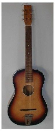 Egmond parlour guitar 1950's