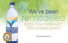 Natural Spring Waters lancia la nuova bottiglia 100% R-PET