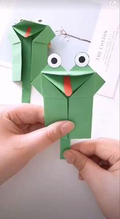 Diy Crafts For Kids Easy, Diy Crafts Hacks, Diy Arts And Crafts, Creative Crafts, Creative Ideas, How To Make Crafts, Easy Origami For Kids, How To Make Toys, Kids Diy