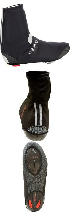 Shoe Covers 177863: Capo Mens Piemonte Wind Road Bike Cycling Shoe Cover Bootie - Black BUY IT NOW ONLY: $32.0