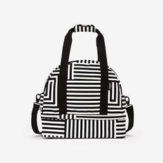 The Small Weekender Bag in Signature Zig Zag - Kate Spade Saturday