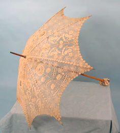 Irish Lace Parasol, c. 1910