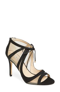 Nina 'Cherie' Illusion Sandal (Women) available at #Nordstrom
