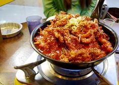 Spicy Chicken Feet - Korea is known for many spicy and delicious foods. Chicken feet is a popular food among many Asian countries, and Korea is no different. What is different, however, is the way Koreans make it. Chicken feet tend to be one of the spiciest dishes in the country.