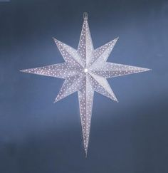 A Wonderful Large Star Perfect For Outdoor Christmas Decorating This Truly Dazzling Piece