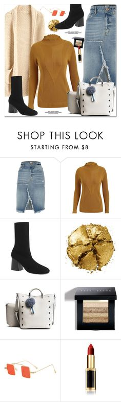 """""""Plus Size Sweater"""" by oshint ❤ liked on Polyvore featuring River Island, Pat McGrath, Bobbi Brown Cosmetics and L'Oréal Paris"""