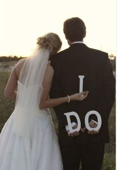 cute wedding picture idea! Thank you instead of i do for wedding pictures?