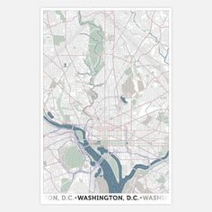 Washington DC Poster, $23, now featured on Fab.