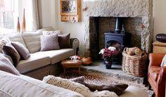 cosy cottage interior