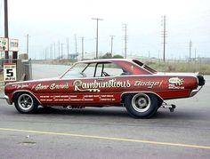 """Gene Snow's Rambunctious Dodge"" nostalgia racer                              …"