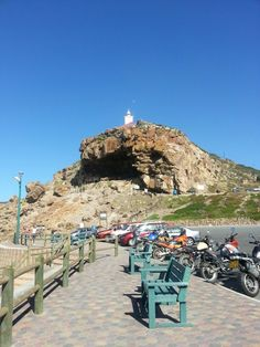 Light house at Mosselbay,South Africa