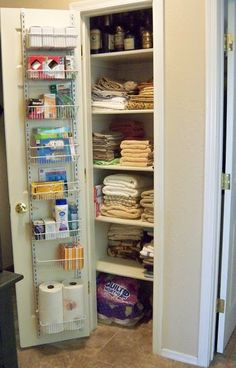 Perfect A Stroll Thru Life: Maximum Storage In A Small Linen Closet