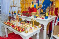 Belle / Beauty and the Beast Birthday Party Ideas | Photo 1 of 36