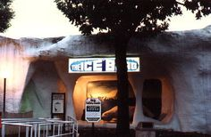 The Iceberg at Dorney Park. Originally the open-sided Cuddle-Up which was enclosed and had lots of AC pumped inside to make it iceberg-like. This always felt great on a really muggy summer day.