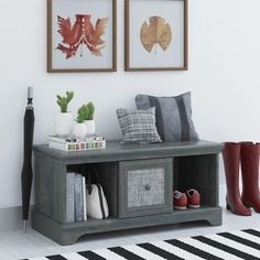 Shop for Altra Stone River Storage Bench. Get free shipping at Overstock.com - Your Online Furniture Outlet Store! Get 5% in rewards with Club O!