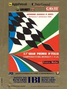 1986 GP de Italia en Monza