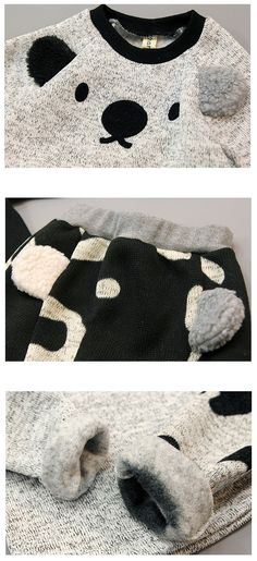 Koala Fleece Set for boys and girls 2-7. Cool kids fashion, play ready style at Color Me WHIMSY.