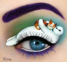 Passionate makeup painting by Tal Peleg  hero
