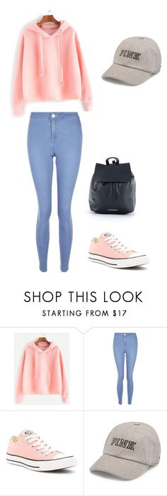 """""""Untitled #285"""" by timcaaa on Polyvore featuring New Look, Converse and Victoria's Secret"""