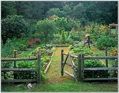 33 best garden design ideas for more garden design ideas - Country Vegetable Garden Ideas