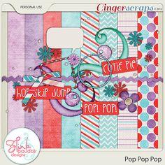 Pop Pop Pop mini kit freebie from Z Pink Boudoir Designs