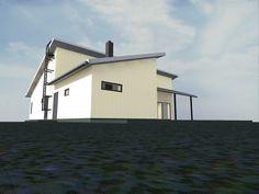 Talomme tulee olemaan L:n muotoinen, yksikerroksinen EPS-harkkotalo ja talopaketti on ostettu HEVI kivitaloilta. Huoneneliöt päärakennuksess...