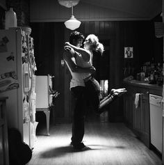 Love Is…dancing in the kitchen.