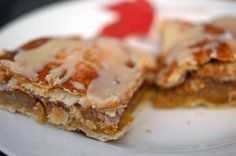 Simple Apple Bars -