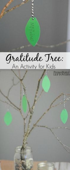 For every day of November leading up to Thanksgiving. Easy Gratitude Tree Tutorial - Help your kids reflect on what they are thankful for with this Gratitude Tree Activity. It's a great craft for the upcoming Thanksgiving holiday. Fall Crafts, Holiday Crafts, Holiday Fun, Crafts For Kids, Thanksgiving Holiday, Easy Thanksgiving Crafts, Thanksgiving Traditions, Kids Diy, Holiday Travel