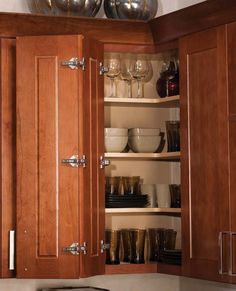 Superieur Mission Corner Wall Cabinet | Kitchen Ideas | Kabinart Kitchens Of  Nashville | Kitchen Cabinets |