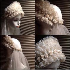 Vintage Bridal Veil / Bridal Headpiece / by VintessentialGoods