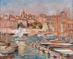 Le Port de Marseille  Verkaufsresultate von Horace Richebe auf artnet