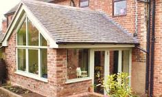 A window like this Upvc French Doors, French Doors Bedroom, Garden Room Extensions, House Extensions, Kitchen Extensions, Orangery Extension, Rear Extension, Extension Ideas, Conservatory Kitchen