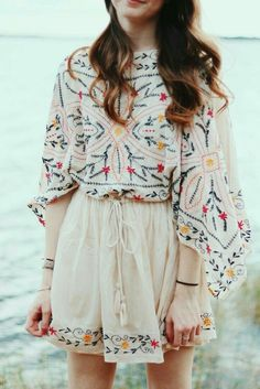 54 Magical Outfit Ideas To Copy Asap – New York Fashion New Trends Teen Fashion Outfits, Boho Outfits, Look Fashion, Trendy Outfits, Fashion Dresses, Cute Outfits, Ladies Fashion, Fashion Movies, Classy Fashion