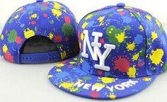 New York NY Yankees Graffiti Baseball Snapback Cap