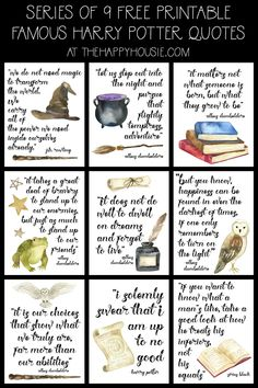 Free Printable Famous Harry Potter Quote Series The Hy Harry Potter Book Quotes, Harry Potter Planner, Harry Potter Journal, Harry Potter Free, Deco Harry Potter, Harry Potter Classroom, Harry Potter Printables, Harry Potter Bedroom, Harry Potter Spells
