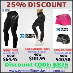 . MASSIVE BETTER BODIES SALE - Now On... While stock lasts. . SHOP⬆⬇ Use Code: BB25✅ www.gymandfitnessfashion.com.au @gymandfitnessfashion.com.au . Quality Style, SIZES from XS to XL . #gymandfitnessfashion #gff #womensfashion #fitnessfashion # #fitgirls #fitmom #shelifts #girlswholift #fit #fitspiration #fitstagram #motivation #fitspo #shape #ifbb #running#fitness #leggings #healthy #lifestyle #dedication #yoga
