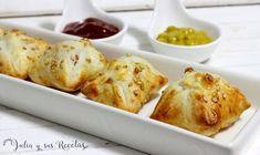 hojaldre, aperitivos con hojaldre, aperitivos con paté, Julia y sus recetas