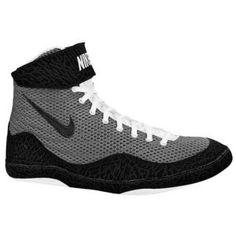 Nike Inflict - Men's - Wrestling - Shoes - Grey/Black size 6.5