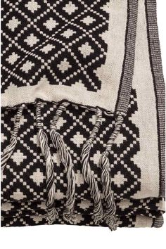 130x170 - 39,99€ / Manta en tejido de jacquard | H&M