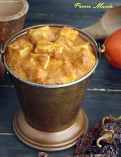 The ever popular paneer mutter made in a western manner by baking it. Paneer Masala Recipe, Paneer Recipes, Veg Recipes, Indian Food Recipes, Cooking Recipes, Punjabi Recipes, Indian Foods, Dessert Drinks