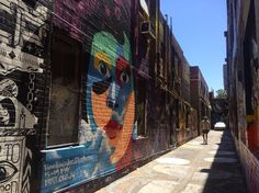 Exploring the street art around Melbourne as a part of your 2 days in Melbourne budget itinerary