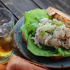 Waldorf Chicken Salad Sandwiches - Nancy Fuller - Farmhouse Rules