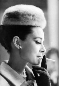 Audrey Hepburn, 1959. Photo: Henry Wolf.