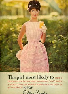 The girl most likely to wear Bobbie Brooks