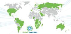 GeoWash worldwide locations