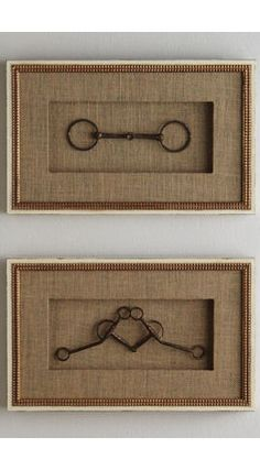 What to do with all the bits your horses don't like? Frame them. | from Houzz